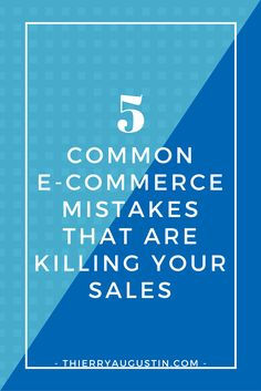 Online Store | Online Shop | How to make more money | How to get more sales | Ecommerce marketing tips | Marketing strategy | Business Strategist |Email Marketing | List Building| Ecommerce product descriptions | Copywriting | Influencer marketing | Partnering with a blogger - No or low Sales in your online store? Avoid these 5 common e-commerce mistakes and you'll be well on your way to increasing brand resonance and, most importantly, boosting your revenue.