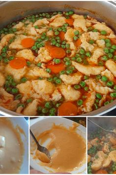 Ízletes, zsenge borsóleves, rántás nélkül, házi galuskával. Egyszerű, könnyű recept, ebédre. Curry, Ethnic Recipes, Food, Health Care, Health And Beauty, Foods, Curries, Meal, Eten