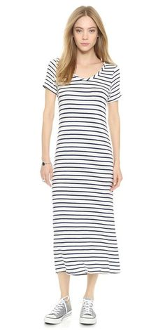 3e8906de9014d Capella Stripe Dress Parisian Chic Style
