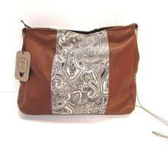 leather shoulder bag leather purse leather handbag. $85.00, via Etsy.