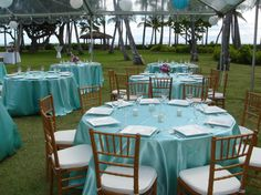 Add specialty linen for color pops from Royal Party Rentals