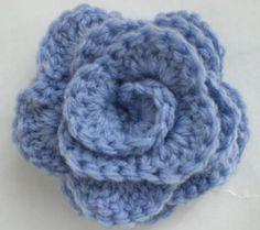 DIY Crochet DIY Yarn: DIY Crocheted Flowers - Roses