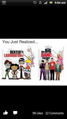 OMIGOSH! I loved Dexter's Labratory, and now I love Big Bang Theory!!!