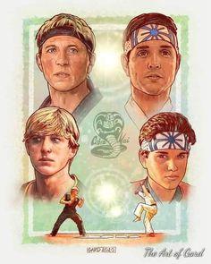 Daniel Karate Kid, The Karate Kid 1984, Karate Kid Movie, Karate Kid Cobra Kai, Iphone Bleu, Cobra Kai Wallpaper, Kai Arts, William Zabka, Cobra Kai Dojo