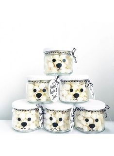 Polar Bear Party, Panda Party, Kids Birthday Treats, Boy First Birthday, Party Treats, Party Gifts, Lila Party, Diy For Kids, Crafts For Kids