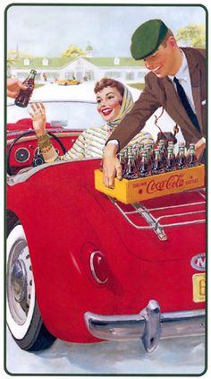 mini quadros coca cola vintage