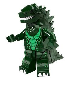 Excited to share the latest addition to my #etsy shop: horror: godzilla lego
