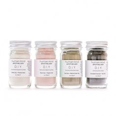 D.I.Y.: Milk Protein Brightening Mask #FaceMaskForSpots Home Spa Treatments, Rose Clay, Milk Protein, Matcha Green Tea, White Clay, Skin Brightening, Essential Oils, Skin Care, Teenage Room Decor