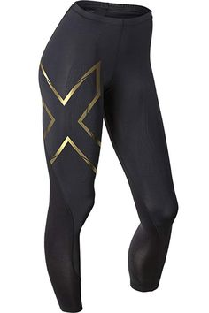 size 40 dcbdf 3a694 Womens Elite MCS Compression Tights Black Gold Medium -- Check this awesome  product by going to the link at the image.
