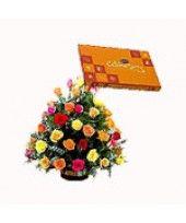 send durga puja #flowers
