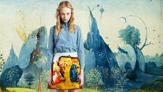 Pictorial fantasies for Carven fall 2012
