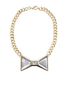 Buy ASOS Bow Necklace at ASOS. Get the latest trends with ASOS now. Bow Necklace, Earrings, Jewelry Accessories, Fashion Accessories, Jewelry Necklaces, Bracelets, Jewellery, New Years Outfit, Drop Dead Gorgeous