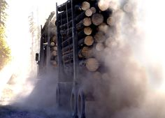 Slocan Forest Products  Photo by Kent Kallberg, Kent Kallberg Studios http://www.kallbergstudios.com/  Vancouver, BC, Canada #photography #photographer #Vancouverphotographer #Vancouver  #Logging #Truck #Dirt #Wind