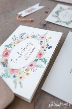 """""""Wilde Blumen"""" Farbdruckauf 300g/m² cremefarbenem Designpapier  Fotos:Nadine Saupper Photography ZURÜCK ZUM PORTFOLIO"""
