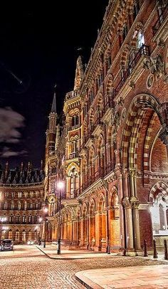 Saint Pancras Station, London..London to Paris via the Chunnel