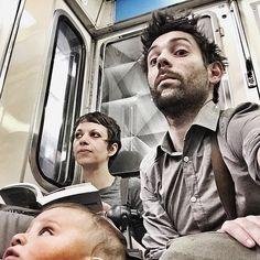Retour dans le métro.