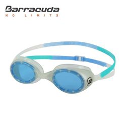 Barracuda Junior Swim Goggle AQUACIRCUS - Glow Effect for Children ages 6-12 (#51125)
