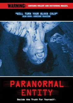 Paranormal Entity (2009) Film Movie, Movies, Films, Thrillers, Paranormal, Favorite Tv Shows, Horror, Activities, Movie Posters