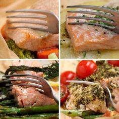 Préparation pour saumon