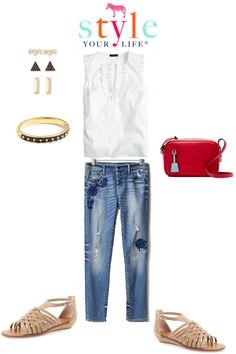 Style Your Life, Wardrobe Stylist, Personal Stylist : SYL Official Capsule Wardrobe: White Ruffle Blouse Three Ways