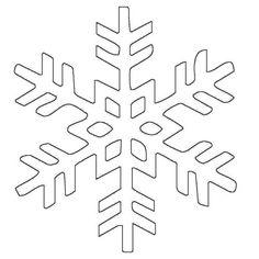 schneeflocken und sterne: schneeflocke 17 zum ausmalen   schneeflocke vorlage, schneeflocke