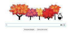 Doodle do Google traz animação para celebrar data; descubra qual (Doodle do Google mostra fenômeno em árvores caducas a partir do equinócio ...20.03.2014