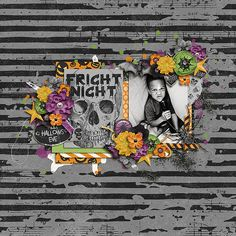 Melissa Bennett & Digital Scrapbook Ingredients - Fright Night | kit http://www.sweetshoppedesigns.com/sweetshoppe/product.php?productid=35108  Two Tiny Turtles - Fresh | templates http://www.sweetshoppedesigns.com/sweetshoppe/product.php?productid=33449