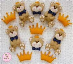 Ursinhos príncipes para kit mdf