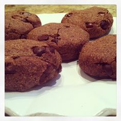 Almond Butter Quinoa Chocolate Chip Cookies by Talia Fuhrman