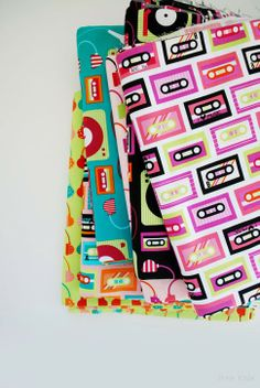Beatbox by Ann Kelle! Love this quirkly collection of mix tapes and boom boxes of our childhoods. The eighties and nineties are calling you! - How fun for a quilt!