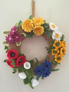 Wild Flower Wreath- assembling