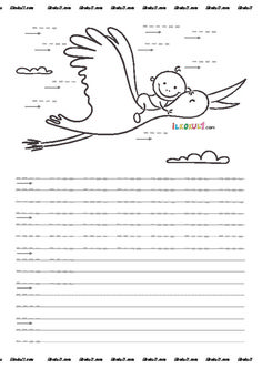 thumbnail of DİK TEMEL HARFLER ÇİZGİ ÇALIŞMALARI 2 Preschool Learning Activities, Kindergarten Worksheets, Alphabet Coloring Pages, Pre Writing, School Lessons, Fine Motor Skills, Kids And Parenting, Homeschool, Teaching