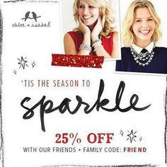 25% OFF ! Shop My Boutique today! https://www.chloeandisabel.com/boutique/jennschloeandisabel