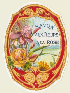 All sizes | Antique French Perfume Label | Flickr - Photo Sharing!