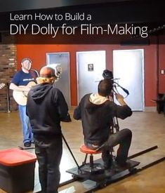 How to Build a DIY Dolly for FilmmakingYou can find Filmmaking and more on our website.How to Build a DIY Dolly for Filmmaking Photography And Videography, Video Photography, Photography Basics, Everything Film, Film Tips, Film Academy, Digital Film, Film Studies, Film School