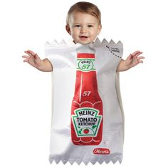 INFANT KETCHUP PACKET COSTUME costs $30.