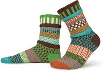 September Sun design odd-socks by Solmate | Made from recycled cotton