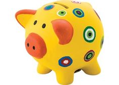 Create your own design of Piggy Bank for saving coins