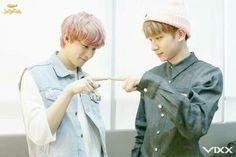 Hongbin and Hyuk