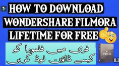 How To Download Wondershare Filmora 8.1 For Free