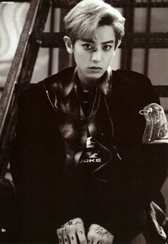 #EXO #EXO_LOTTO #CHANYEOL Lotto Photobook