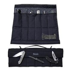 Dodecapod 12-Knife Carry Case, Black