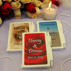Personalized Wedding NoteBook Favors PER_6700_WEDDING-WP