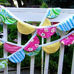 Items similar to PDF Sewing Pattern Scalloped Bunting, Party Flags, Photo Props by Yards and Yards on Etsy Fabric Bunting, Bunting Banner, Banners, Buntings, Little Lizard, Party Flags, Pdf Sewing Patterns, Photo Props, Playroom
