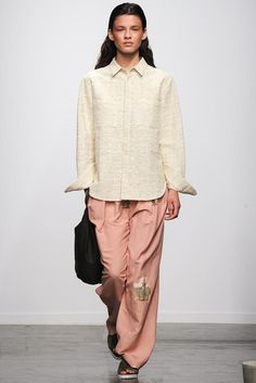 Creatures of Comfort Spring 2015 Ready-to-Wear Fashion Show Runway Fashion, Fashion Models, Fashion Show, Fashion Outfits, Fashion Design, Fashion Weeks, Spring Summer 2015, Spring Summer Fashion, Backstage