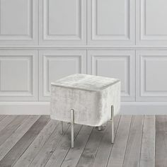 Kick your feet up or have a seat on this cube ottoman. With tube legs made of steel, this ottoman's plush velvet upholstered cushion provides unobtrusive, sturdy, mobile seating or a functional accent Rattan Furniture, Furniture Deals, Cheap Furniture, Discount Furniture, Living Room Furniture, Online Furniture, Furniture Outlet, Living Rooms, Studio Furniture