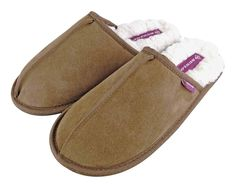 Dunlop - Ladies Fleece Lined Mules Suede Slippers – Emmy Jane Boutique Wet Brush, Tan Shoes, Slip On Mules, Black And Grey, Slippers, Flats, Sweet Dreams, Boutique, Fashion