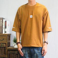 18e562c3b Off-shoulder Oversized Casual Tshirts
