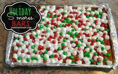 Christmas S'mores Bars Recipe - Christmas Treats, Holiday Recipes   Mommysavers.com