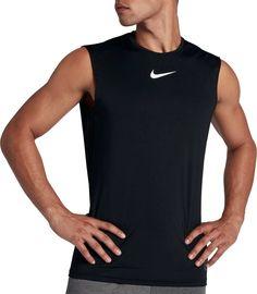 10fed3c111c Nike Pro Men s Fitted Sleeveless Shirt